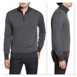 Bonobos Slim Fit Merino Wool Quarter Zip Pullover